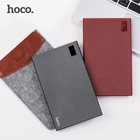 Power Bank Hoco - B17A-20000 мАч - Серый