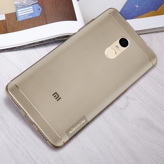 Чехол для Xiaomi Redmi Note 4X - Nillkin Nature TPU Case - Серый