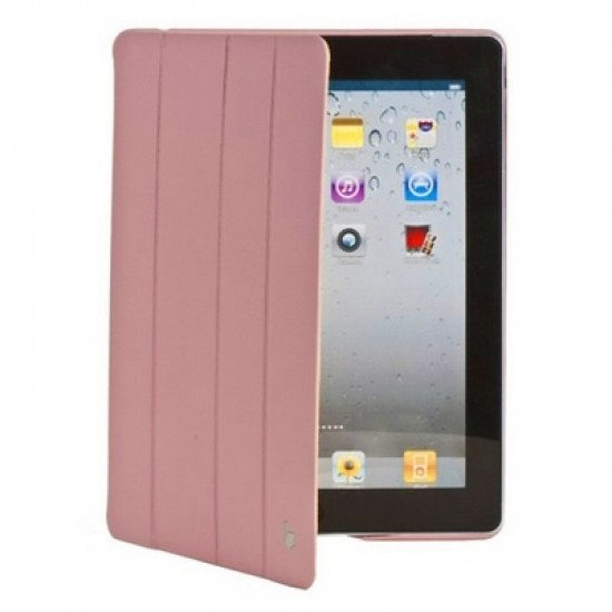 Чехол Jisoncase Executive для iPad 4/ 3/ 2 розовый