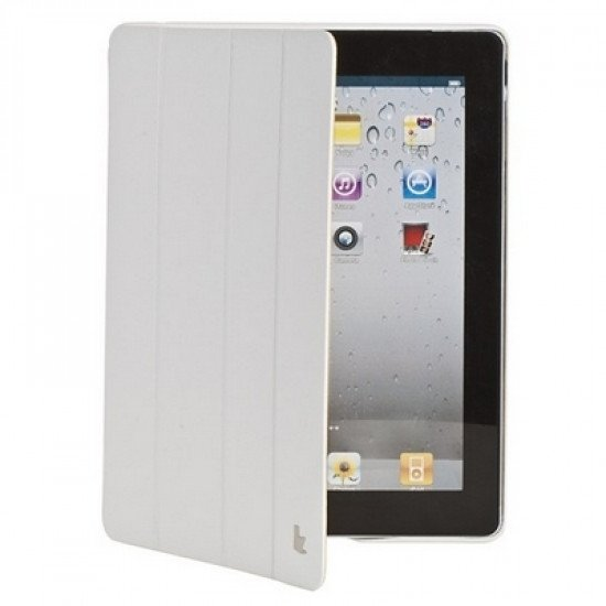 Чехол Jisoncase Executive для iPad 4/ 3/ 2 белый