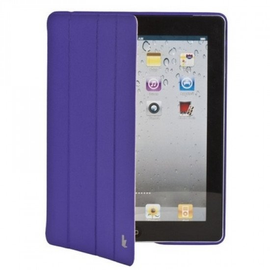 Чехол Jisoncase Executive для iPad 4/ 3/ 2 фиолетовый