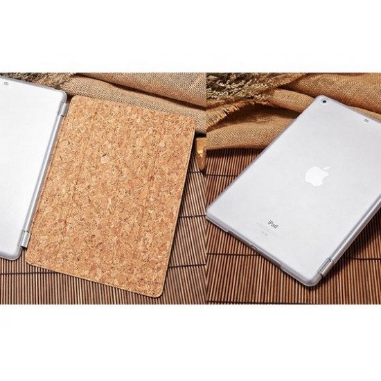 Чехол Mooke Premium Wood Case - Log Oak для iPad AIR