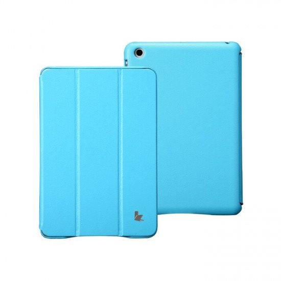 Чехол Jisoncase Executive для iPad mini Голубой