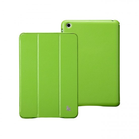 Чехол Jisoncase Executive для iPad mini Зеленый