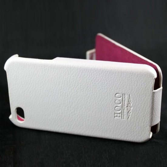 Чехол HOCO для iPhone 4s/ iPhone 4 - HOCO Duke Leather Case Белый
