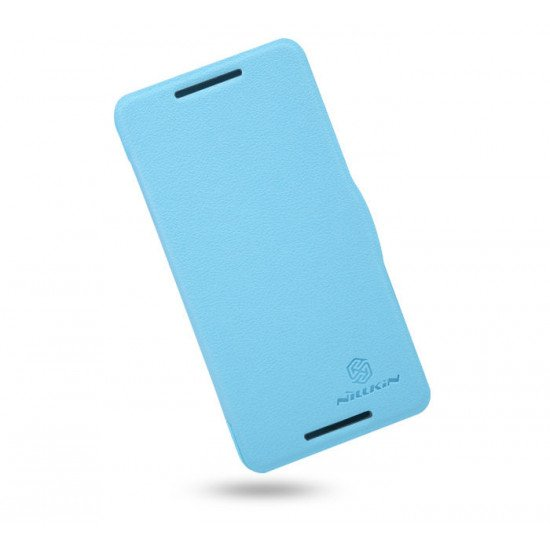 Чехол-книжка Nillkin Fresh Series Leather Case для HTC Butterfly S Голубой