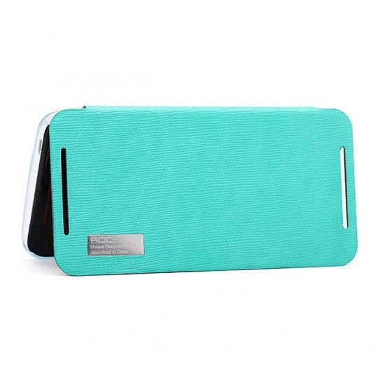 Чехол-книжка ROCK - Elegant Side Flip Case для HTC Butterfly S Голубой