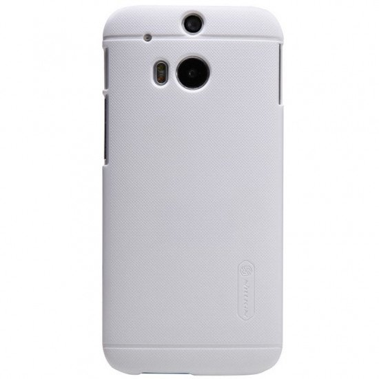 Чехол-накладка Nillkin-Super Frosted Shield для HTC One M8 Белый