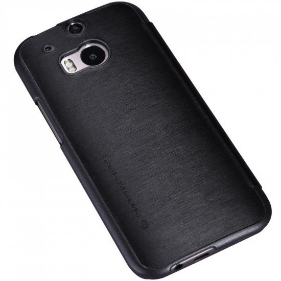 Чехол-книжка Nillkin Rain Series Leather Case для HTC One M8 Черный