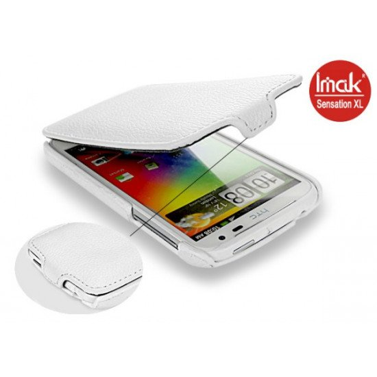 Чехол IMAK FLIP HTC Sensation XL (белый)