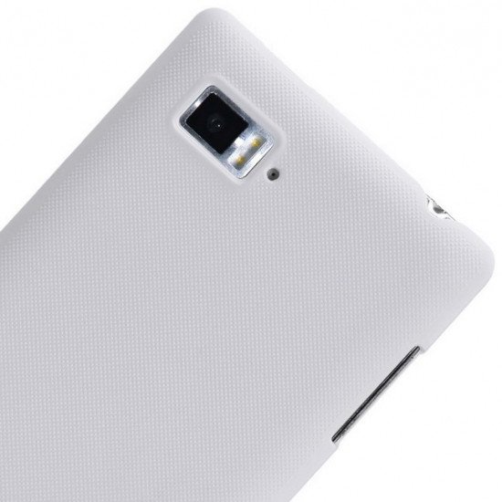 Чехол-накладка Nillkin Super Frosted Shield для Lenovo Vibe Z K910 Белый