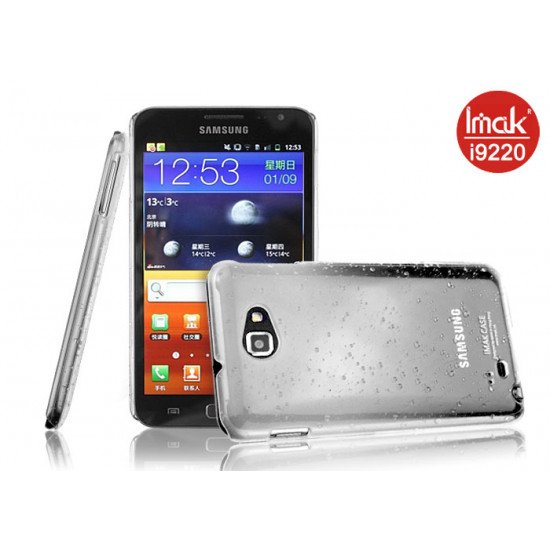 Чехол-накладка IMAK Rain для Samsung Galaxy Note - N7000 Белый