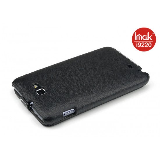 Чехол IMAK PU Leather Book для  Samsung Galaxy Note - N7000 (черный)