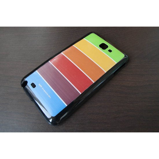 Чехол-накладка Rainbow TPU для Samsung Galaxy Note - N7000 Черный