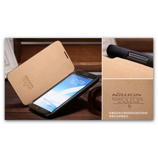 Чехол-книжка Nillkin  для Samsung Galaxy Note II - N7100 черный