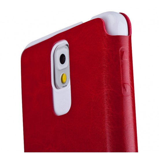Чехол Momax View Stand Case для Samsung Galaxy Note 3 (III) N9000, N9005  Красный