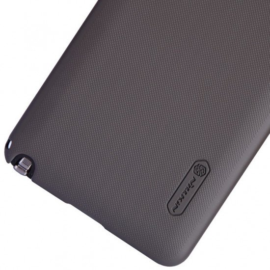 Чехол Nillkin - Super Frosted Shield для Samsung Galaxy Note 3 (III) N9000 N9005 Коричневый