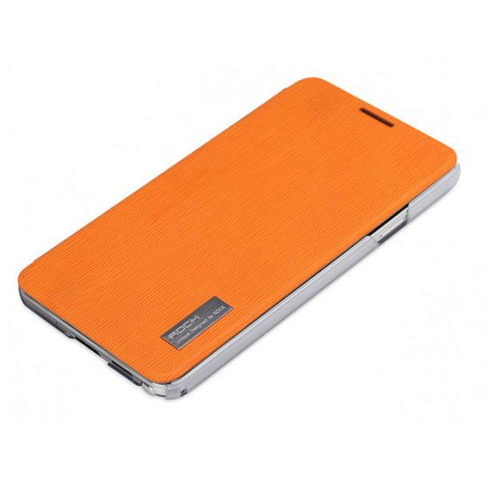 Чехол-книжка ROCK - Elegant Side Flip Case для Samsung Galaxy Note 3 (III) N9000, N9005 Голубой