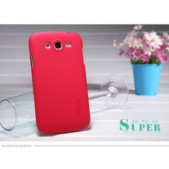 Чехол Nillkin - Super Frosted Shield для Samsung Grand DUOS i9082 Красный