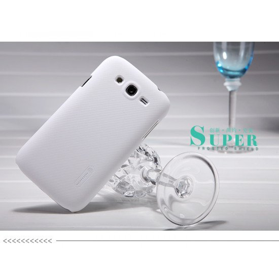 Чехол Nillkin - Super Frosted Shield для Samsung Grand DUOS i9082 Белый