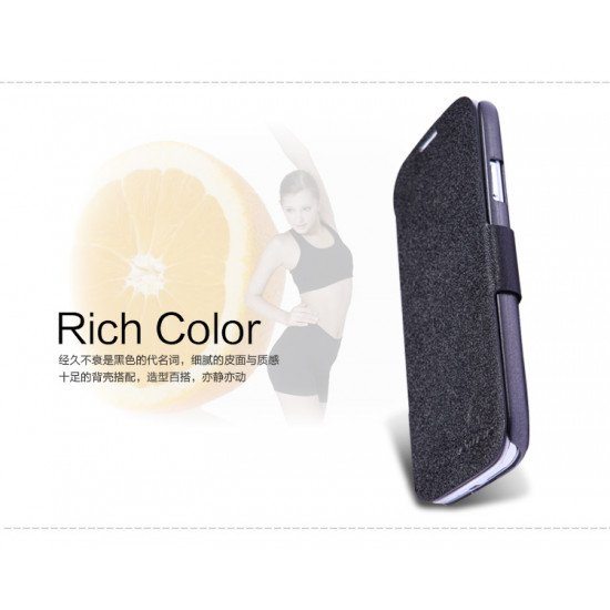 Чехол-книжка Nillkin Fresh Series Leather Case для Samsung Galaxy S IV i9500 Черный