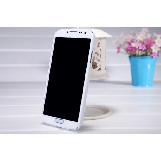 Чехол Nillkin - Super Frosted Shield  для Samsung Galaxy S4 (IV) i9500 Белый