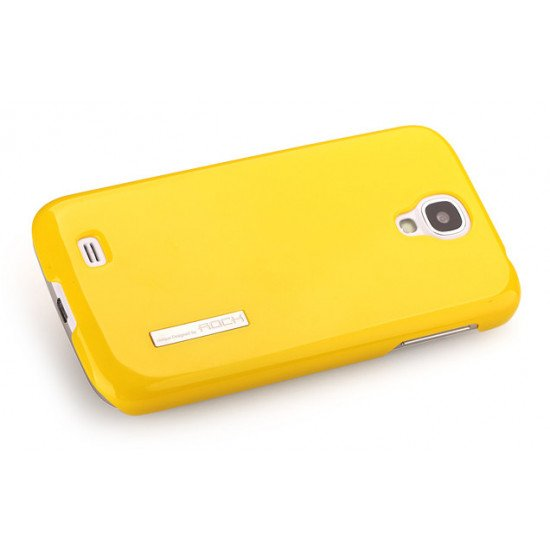 Чехол Rock - Ethereal shell series Hard Case  для Samsung Galaxy S IV i9500 Желтый