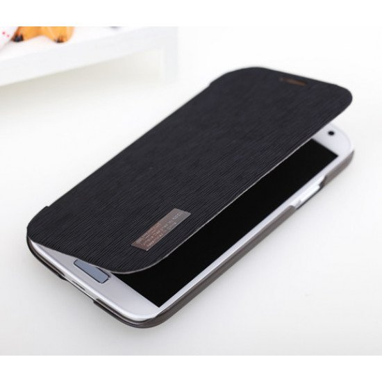 Чехол-книжка ROCK - Fashion Luxury Leather flip case для Samsung Galaxy S IV i9500 Черный