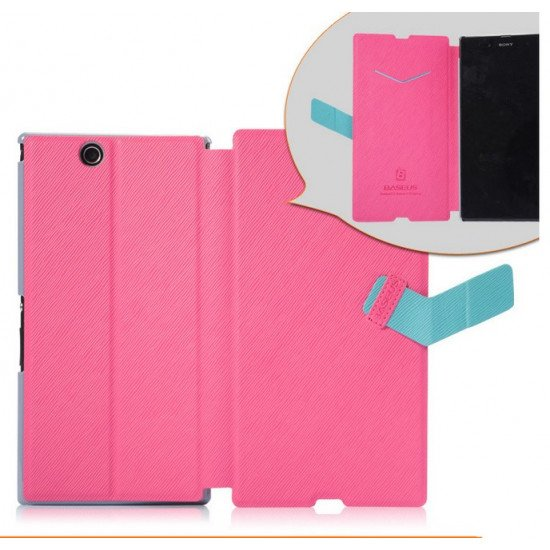 Чехол-книжка Baseus Faith Leather Case для Sony Xperia Z ULTRA XL39h Розовый