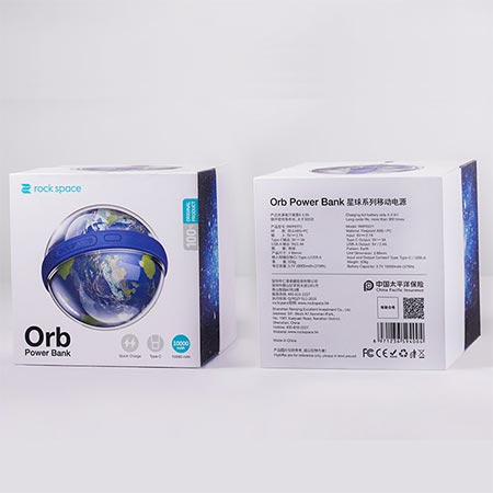 Внешний аккумулятор Rock Space Orb Power Bank Moon (RMP0371) 10000 mAh -